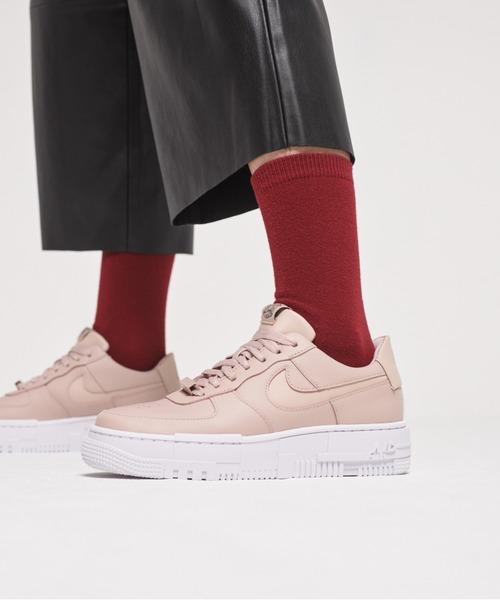 [NIKE] ナイキ エア フォース 1 ピクセル ウィメンズシューズ / 厚底スニーカー / Nike Air Force 1 Pixel Women's Shoe