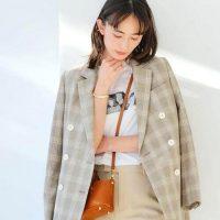 大人ジャケットでカッコよく。アラサー女子の春スタイルを格上げ