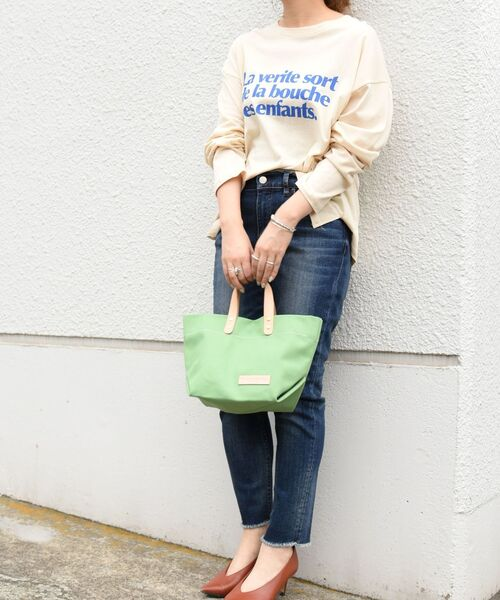 [SHIPS for women] The Container Shop: WM トートバッグ◆