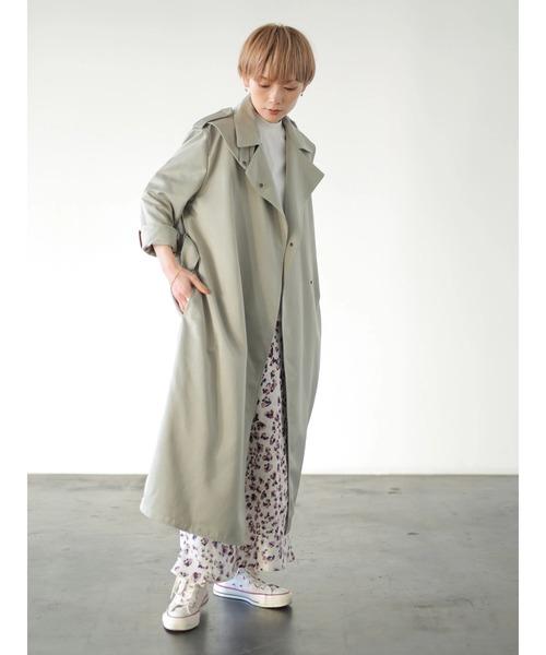 [rem closet] プリントバイアススカート