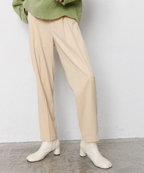 [Auntie Rosa] 【ON OFFさりげなくキメてくれる】SET UP Tapered pants