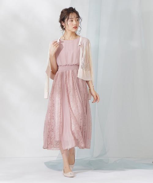 [PROPORTION BODY DRESSING] LLレースカーディガン