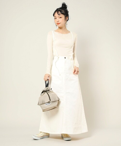 Laceup skirt/別注レースアップスカート