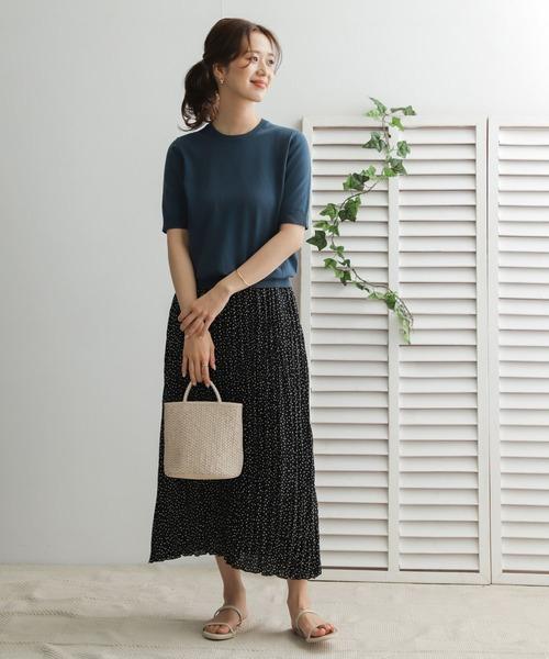 [URBAN RESEARCH DOORS] ドットプリーツスカート