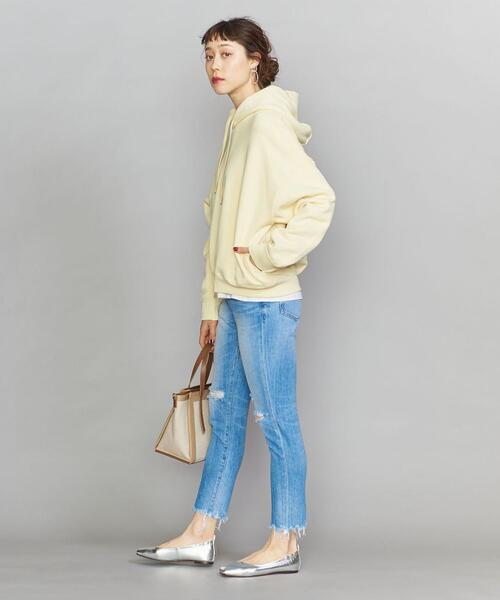 [BEAUTY&YOUTH UNITED ARROWS] BY コットン裏毛ショートワイドパーカー/スウェット