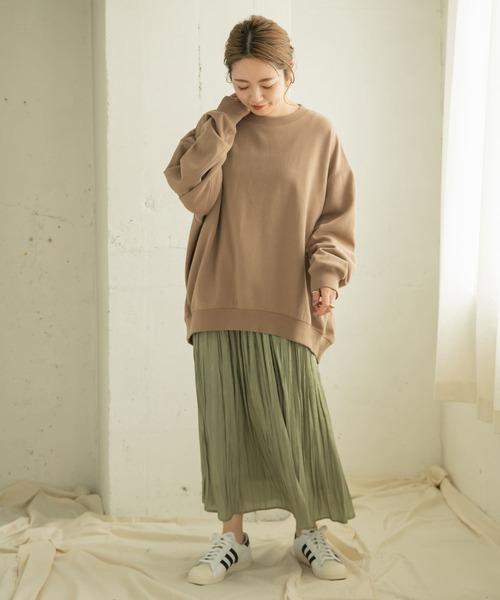 [ITEMS URBAN RESEARCH] シャイニープリーツスカート