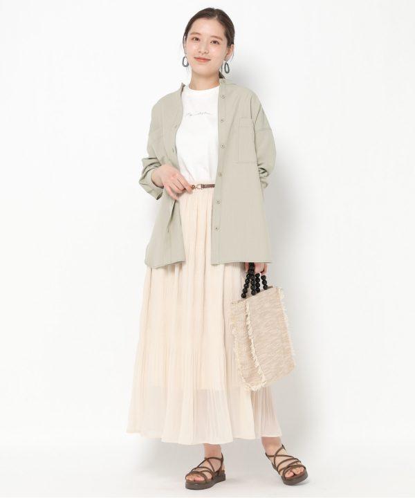 【mysty woman】マジョリカプリーツスカート