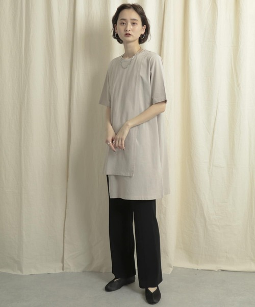[SENSE OF PLACE by URBAN RESEARCH] レイヤードカットトップ