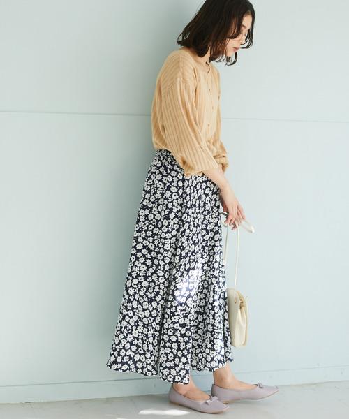 花柄マーメイドスカート*