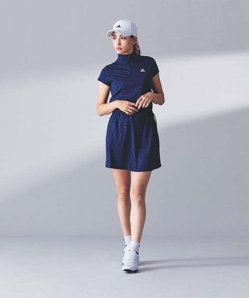 [adidas] ADIDASプリント 半袖ワンピース 【adidas Golf/アディダスゴルフ】/ Dress