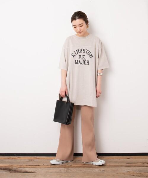 [FREAK'S STORE] ▽【WEB限定】PENNEYS/ペニーズ 別注ピグメントフットボールTシャツ (ロゴTシャツ)