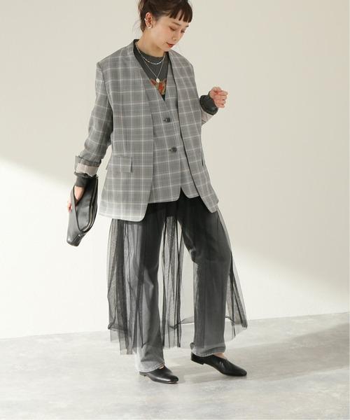 [JOURNAL STANDARD] 【RITO/リト】SUPER 140S WOOL TROPICAL JACKET:ジャケット