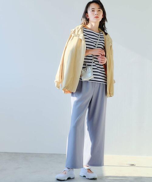 [green label relaxing] [ 洗濯可能 / オルマイ ] ◆SC ワイド パンツ 34-44サイズ