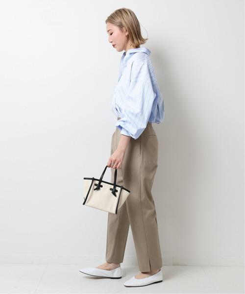 [Spick & Span] パールボタンオーバーシャツ◆