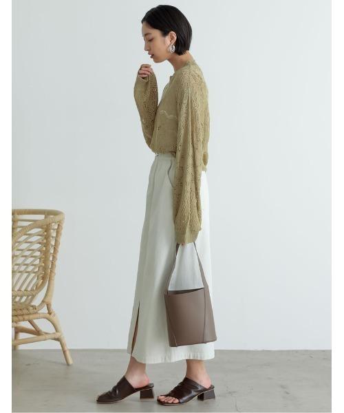 カラーツイルスリットIラインスカート