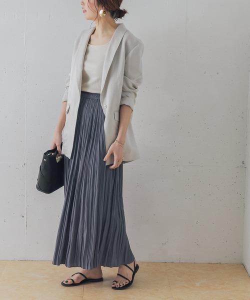 [URBAN RESEARCH ROSSO WOMEN] ロングランダムプリーツスカート2