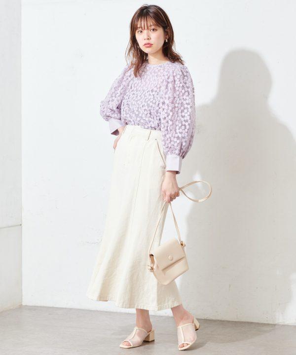 【natural couture】マーメイドフレアスカート