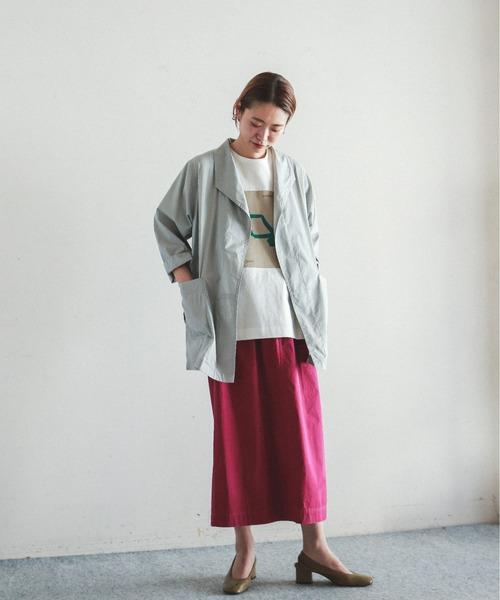 [NOMBRE IMPAIR] ブライトコットン カーデシャツ