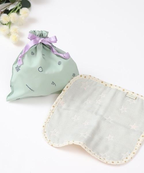 [panpantutu] メルシープチギフト(ガーゼハンカチ&巾着セット)
