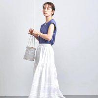 夏の大人コーデはマキシ丈スカートで作る《2021》好バランスな着こなし方