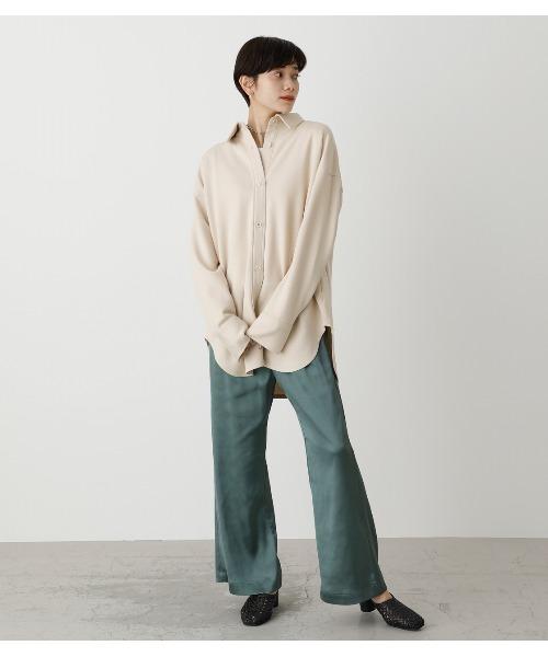 【AZUL BY MOUSSY】ソフトタッチリラックスシャツ