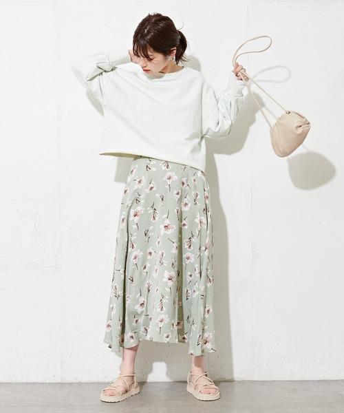 リリーフレアスカート