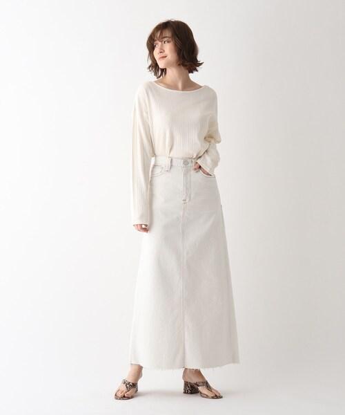 【ウォッシャブル】ヴィンテージデニムロングスカート