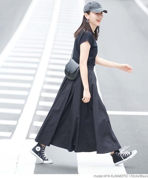 [coca] コットンロングスカート