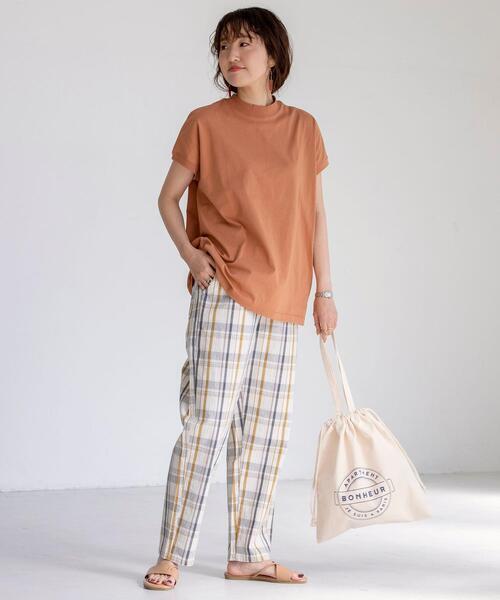 [coen] 【WEB限定カラー】リピT・機能付きハイネックTシャツ