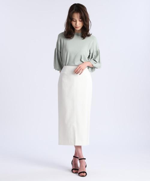 《Maglie par ef-de》センタースリットタイトスカート