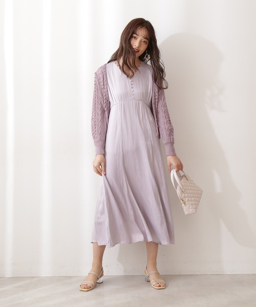 [PROPORTION BODY DRESSING] <E>レース編みカーディガン / 1211177300