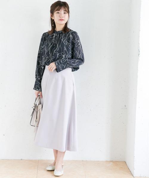 [URBAN RESEARCH ROSSO WOMEN] 【WEB限定】カラーフレアースカート