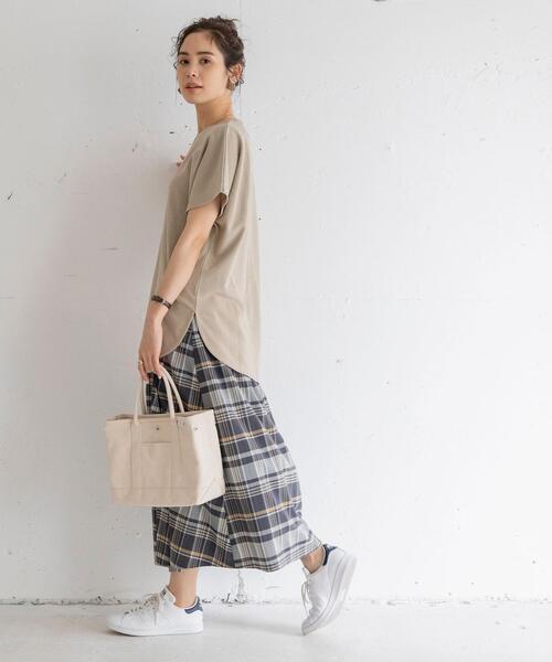 [coen] バイオミニ裏毛ビッグTシャツ