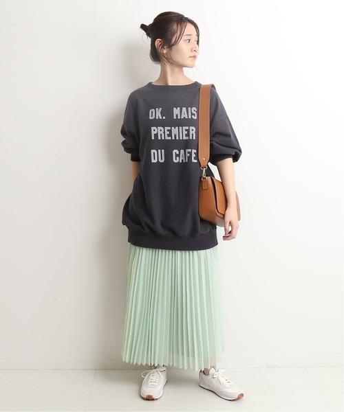[IENA] シアープリーツスカート【ウエストゴム】◆