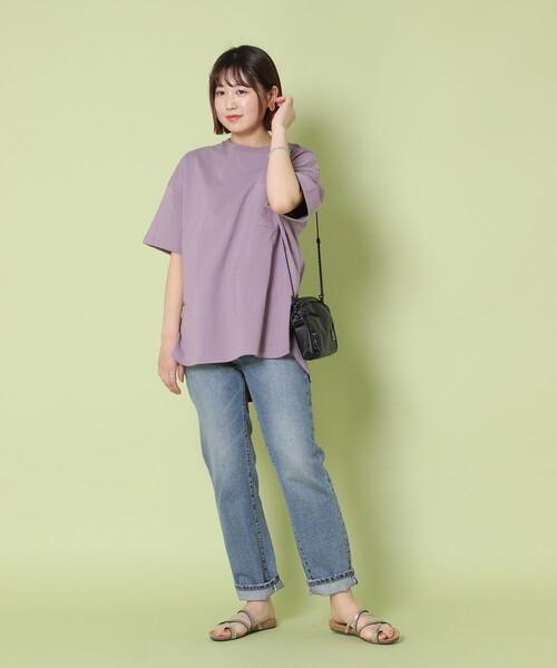 [FREAK'S STORE] 【WEB限定】KELTY/ケルティ 別注ビッグシルエットポケットTシャツ