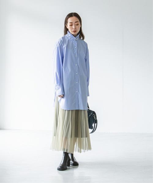 シアースカートで軽やかさをプラス