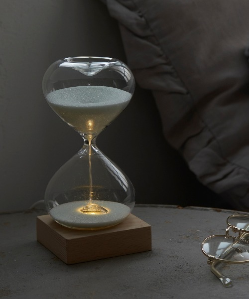 [Actually] 砂時計 LEDライト付き 15分計