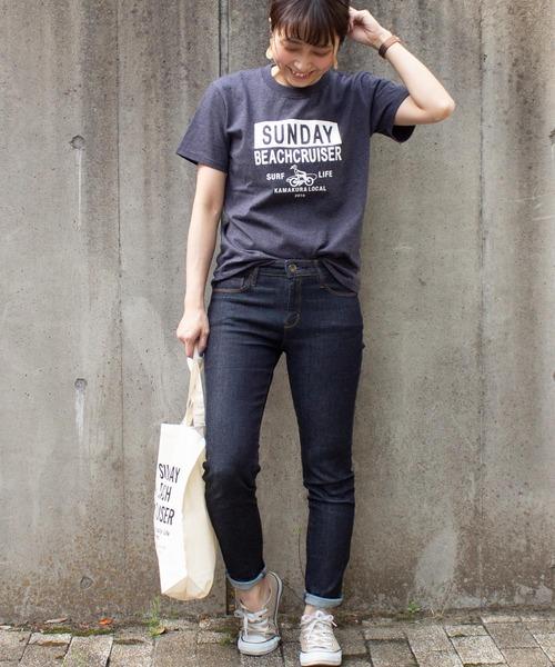 [ALL ORDINARIES] 【SUNDAY BEACH CRUISER】カコミロゴ半袖Tシャツ