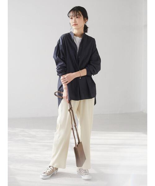 [CRAFT STANDARD BOUTIQUE] バンドカラーシャツ *◇34