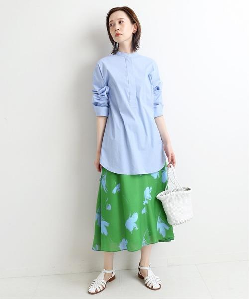 [IENA] Deveaux ビッグフラワーフレアースカート