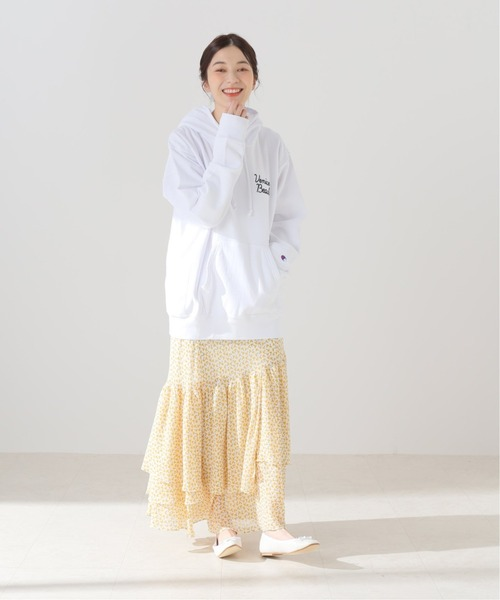 [Spick & Span] アシメティアードスカート◆18