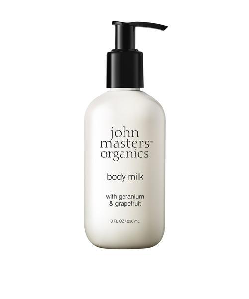 [ESTNATION] JOHN MASTERS ORGANICS / 「G&G」 ボディミルクN 236ml