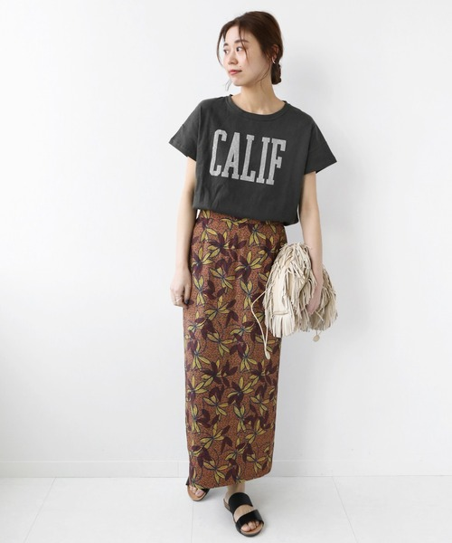 [JOURNAL STANDARD] 【HOLIDAYS COMFORT】ラフィテンジクTEE:別注Tシャツ◆