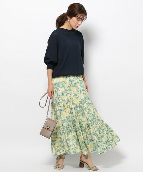 [BARNYARDSTORM] BARNYARDSTORM / フラワーロングスカート