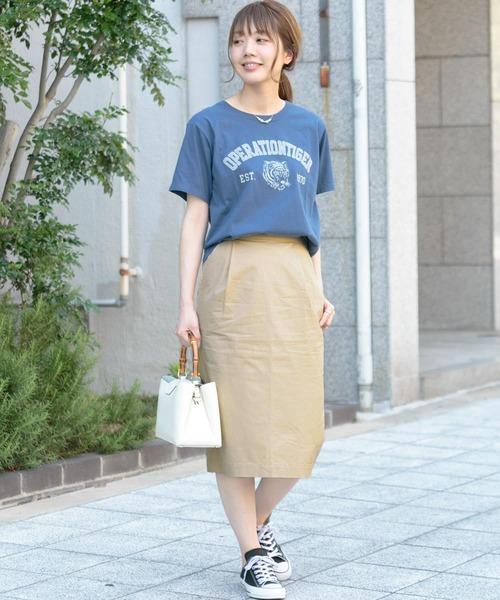 [URBAN RESEARCH OUTLET] チノタイトスカート∴