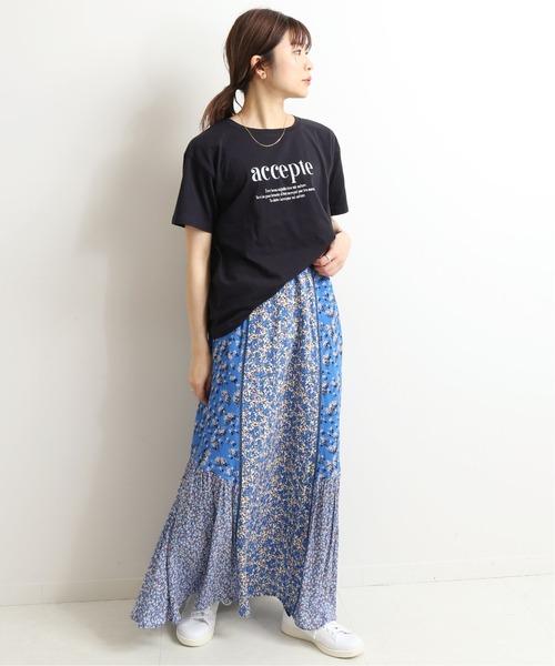 [IENA] accepte Tシャツ【手洗い可能】◆