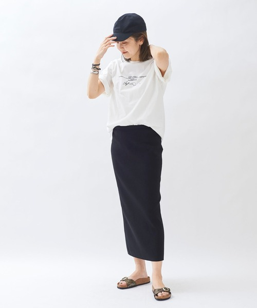 [Plage] *【JANE SMITH/ジェーンスミス】 SP BEACH S/SL Tシャツ◆