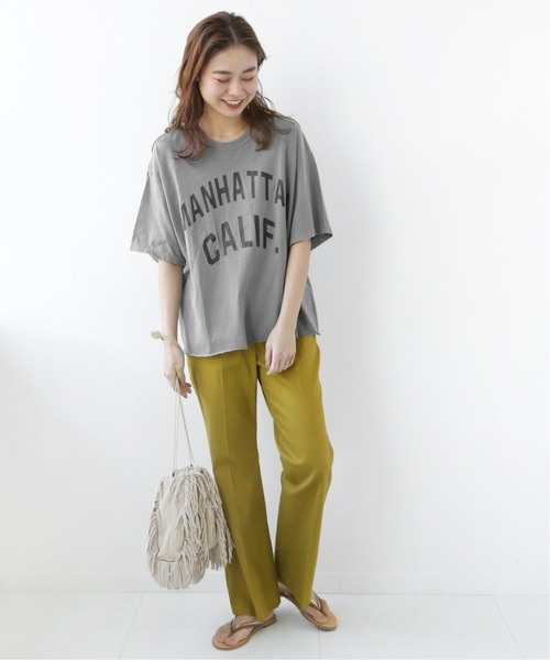 [JOURNAL STANDARD] 【THE DAY ON THE BEACH】cut off t-shirts:Tシャツ◆