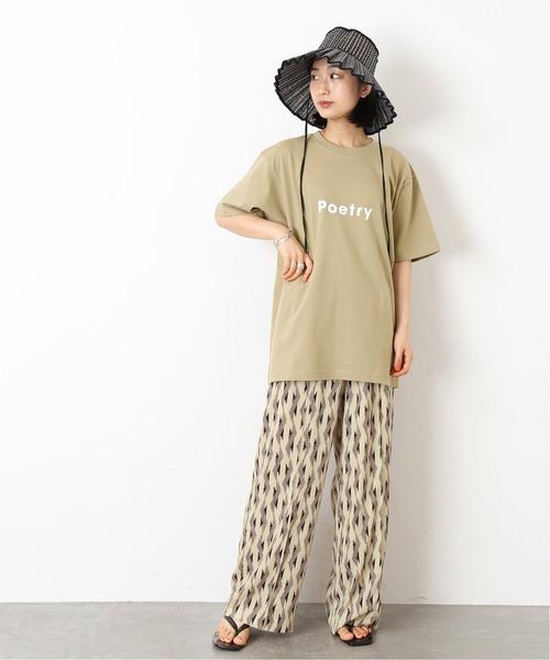 [JOURNAL STANDARD] POET MEETS DUBWISE Poetry Tシャツ◆