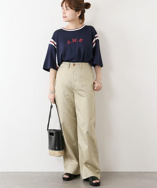[JOURNAL STANDARD] 【MASON/メイソン】RAYON S/S TEE:Tシャツ◆